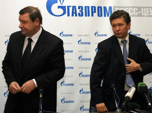 Gazprom chief Miller meets EU leaders