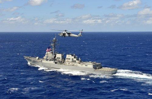 U.S. Navy releases video showing autonomous boats