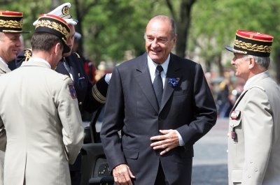 Ex-French President Jacques Chirac hospitalized with lung infection