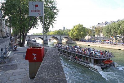 Paris' open-air urinals have some crying foul