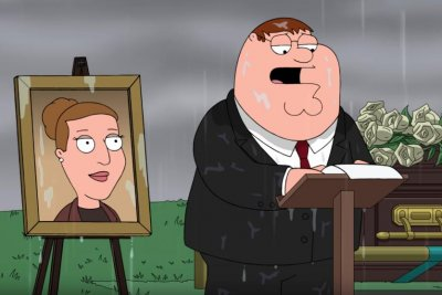 'Family Guy' pays tribute to Carrie Fisher with funeral scene