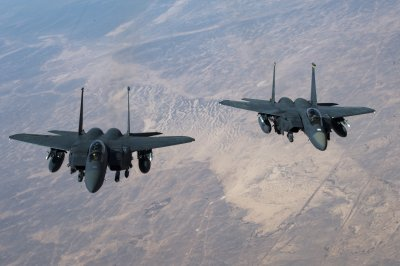 U.S. used F-15E Strike Eagles, precision-guided munitions in Syria airstrikes