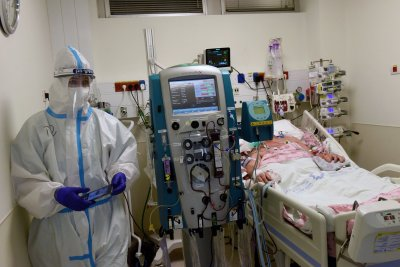 Study: EKG may predict life-threatening illness in hospitalized COVID-19 patients