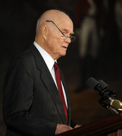 John Glenn remembers 1962 space launch