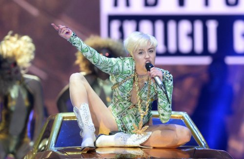 Miley Cyrus teams up with The Flaming Lips for bizarre short film