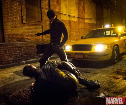 Marvel offers a glimpse of Charlie Cox as Matt Murdock and titular hero in 'Daredevil'