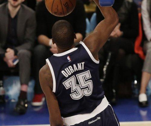 Kevin Durant's actions overshadow Oklahoma City Thunder's win over Dallas Mavericks