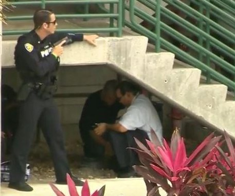 'Total panic' at South Florida airport; 'troubled' Army vet arrested; FBI working motive