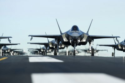 F-35 restricted from flying in lightning over fuel system issue