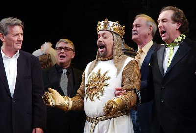 Monty Python will announce reunion at Thursday press conference