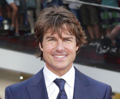 Tom Cruise, Rebecca Ferguson attend 'Mission: Impossible' premiere