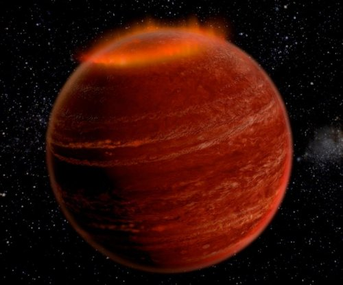 Powerful aurora spotted on distant brown dwarf