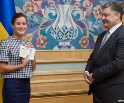 Ukraine grants citizenship to Kremlin critics Maria Gaidar and Vladimir Fedorin