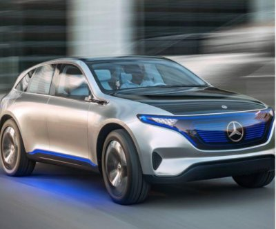 Mercedes-Benz unveils electric SUV concept