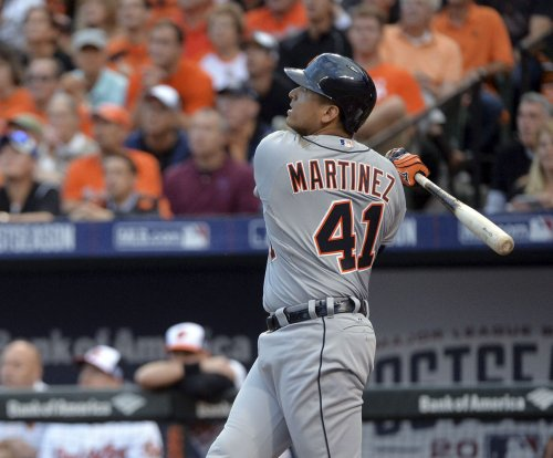 Victor, J.D. Martinez home runs lead Detroit Tigers over Baltimore Orioles