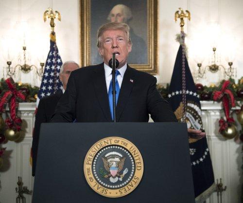 Trump recognizes Jerusalem as Israeli capital in 'pursuit of peace'