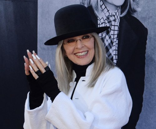 Diane Keaton gushes over Chris Martin: 'He's gorgeous'