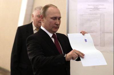 Russians re-elect Putin to fourth term by wide margin