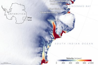 East Antarctica's glaciers are melting, survey shows