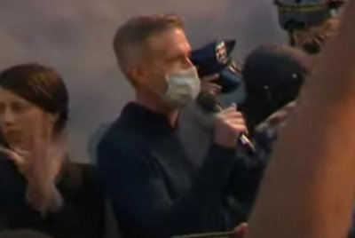Portland mayor tear-gassed by federal police at civil rights rally