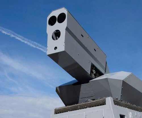 High-energy laser effector tested on German warship