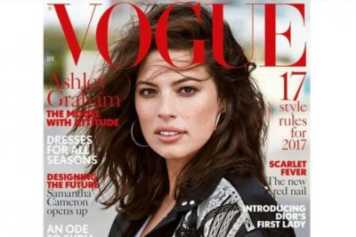 Ashley Graham celebrates first Vogue cover: 'What an absolute honor'