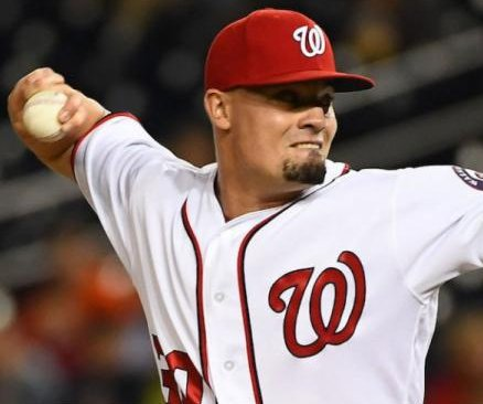 Washington Nationals closer Koda Glover injures back while taking a shower