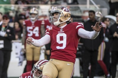 San Francisco 49ers use franchise tag on kicker Robbie Gould