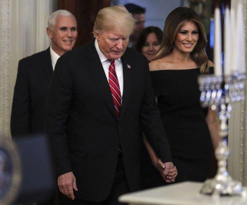 Watch live: Trumps participate in Hanukkah reception
