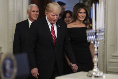 Watch live: Trumps participate in Hanukkah reception