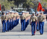 4 all-male platoons graduate boot camp at formerly all-female batallion