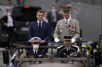 Bastille Day parade, festivities held in France for first time in 2 years