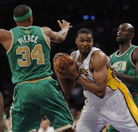 NBA: Los Angeles Lakers 97, Boston 94