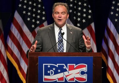 Va.'s Kaine joins U.S. Senate race
