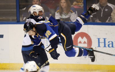 NHL: St. Louis 3, Winnipeg 1
