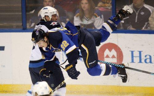 NHL: St. Louis 3, Winnipeg 1