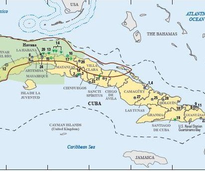 USGS reviews Cuba's oil potential