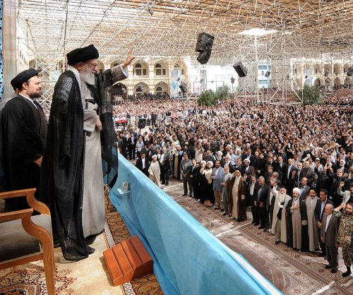 No U.S. foothold allowed, Iran's supreme leader says