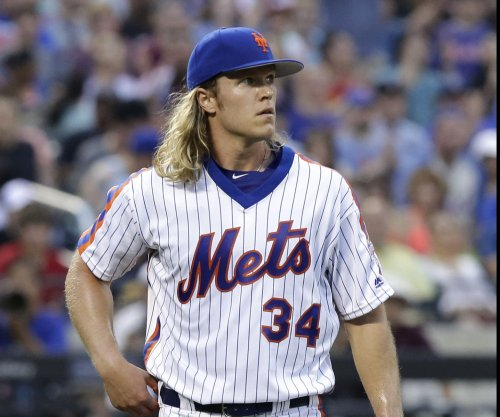 New York Mets' Noah Syndergaard ejected for throwing behind Chase Utley