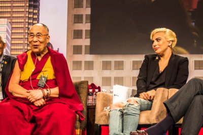 Lady Gaga reportedly banned in China for meeting with Dalai Lama