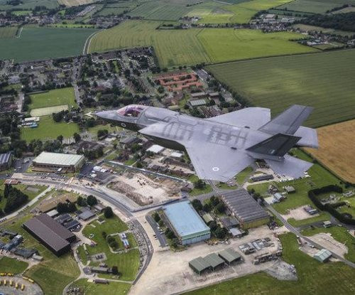 Britain readies base for arrival of F-35 jets next year