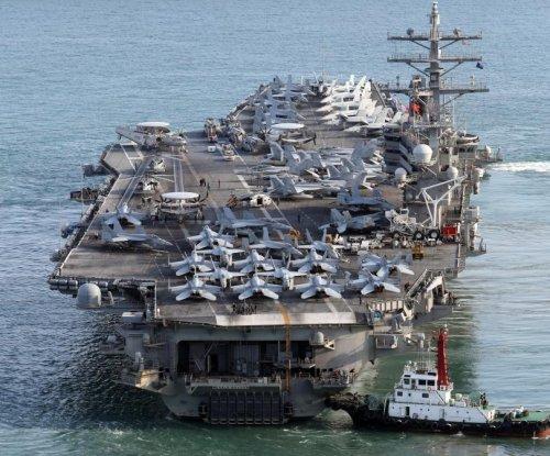 USS Ronald Reagan leaves South Korea following exercises