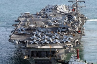 USS Ronald Reagan leaves South Korea following exercises
