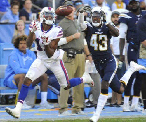 Zay Jones: Bills WR arrested on felony vandalism charge