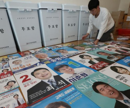 Polls show Democratic edge in South Korean general election