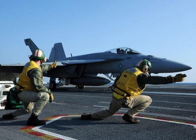 Below-deck tests start on new aircraft carrier launch system