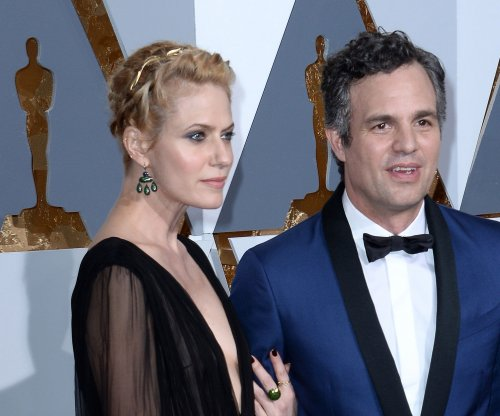 Mark Ruffalo and 'Spotlight' filmmakers protest outside L.A. Catholic church