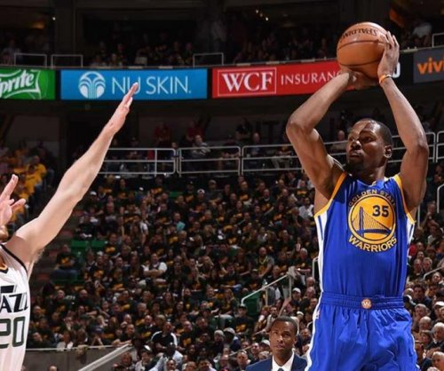 Kevin Durant blisters Utah Jazz, lifting Golden State to 3-0 series lead
