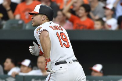 Chris Davis homers twice as Baltimore Orioles pound Texas Rangers