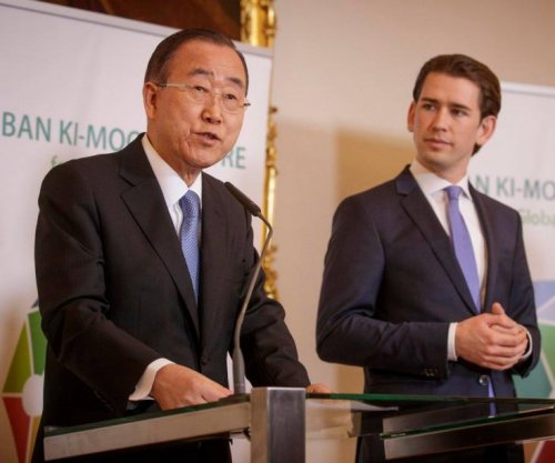 Ban Ki-moon, Austrian officials, launch center for global citizens